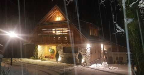 Wintertime in the chalet